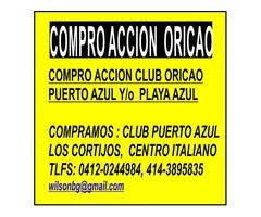 COMPRO ACCIONES CLUB PUERTO AZUL, PLAYA GRANDE, VALLE ARRIBA, TACHIRA, - Imagen 1/2