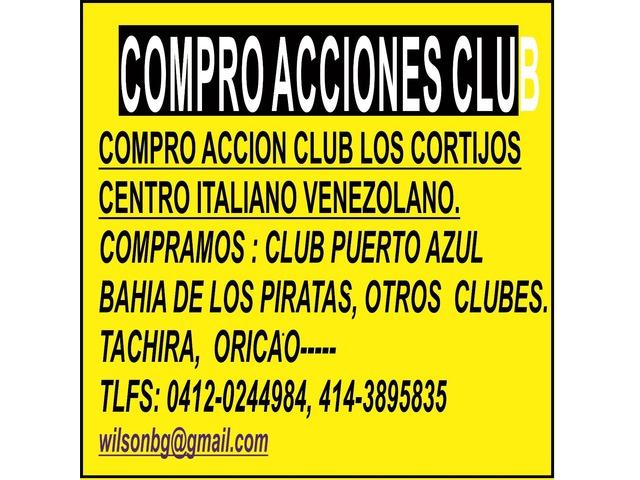 COMPRO ACCIONES CLUB PUERTO AZUL, PLAYA GRANDE, VALLE ARRIBA, TACHIRA, - 2/2