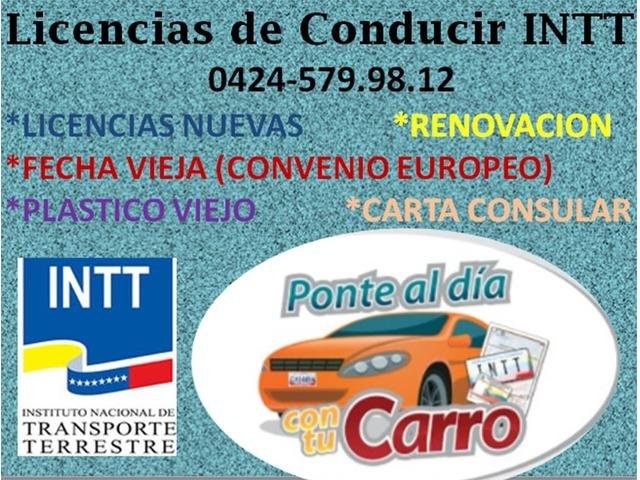LICENCIAS INTT DE VENEZUELA - 2/3