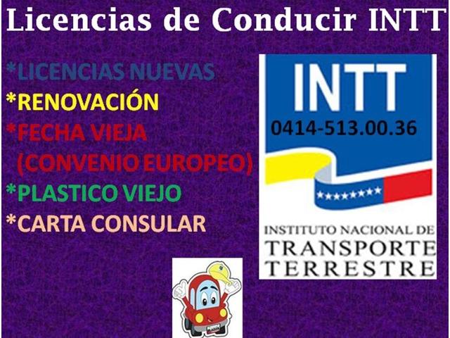 LICENCIAS DE CONDUCIR DEL INTT VZLA - 2/3
