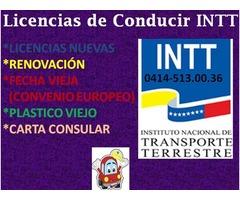 LICENCIAS DE CONDUCIR DEL INTT VZLA - Imagen 2/3