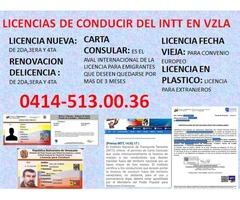 LICENCIAS DE CONDUCIR DEL INTT VZLA - Imagen 3/3