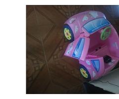 carrito montable de niña