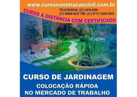 Curso De Jardineiro - cursoconstrucaocivil.com.br