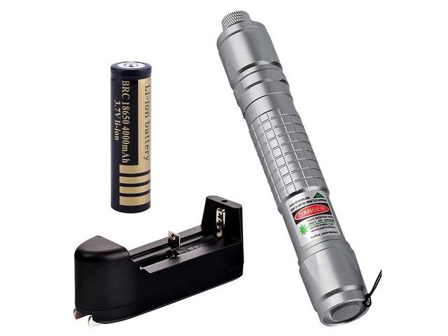 Apuntadores Laser 200mw Verde 532nm Enfocable Alta Calidad! - 1/6