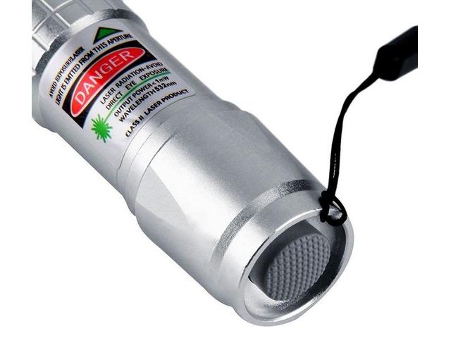 Apuntadores Laser 200mw Verde 532nm Enfocable Alta Calidad! - 5/6