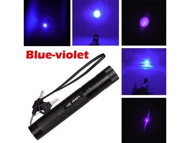 Apuntadores Laser 100mw Violeta 405nm Enfocables Nuevos! - 4/5