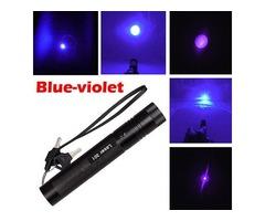 Apuntadores Laser 100mw Violeta 405nm Enfocables Nuevos! - Imagen 4/5