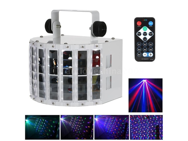 Proyector Led 24w Rgvw 6ch Dmx512 Lighting Strobe - 1/6