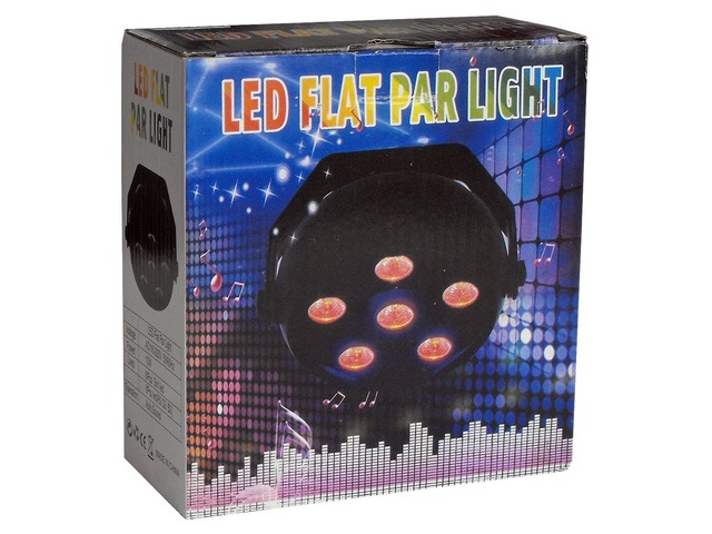 Mini Par Led 6 Rgb 9w Multicolor (r.g.b.y.c.f.w.) Nuevos! - 6/6
