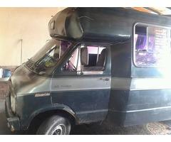 minibus de transporte publico
