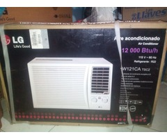 Aire acondicionado de ventana LG 12mil btu nuevo