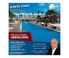 Adquiere tu Apartamento Nuevo de Playa en Punta Cana